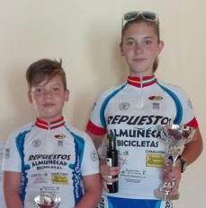 Tres ciclistas sexitanos destacaron en la localidad sevillana de Puebla de Cazalla