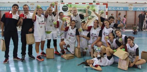 Granada campeona del Andaluz de Baloncesto infantil femenino 65a5c72e74c