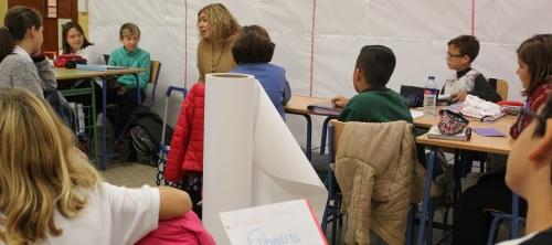 los-alumnos-de-sexto-a-del-colegio-cardenal-belluga-entrevistan-a-la-alcaldesa-de-motril