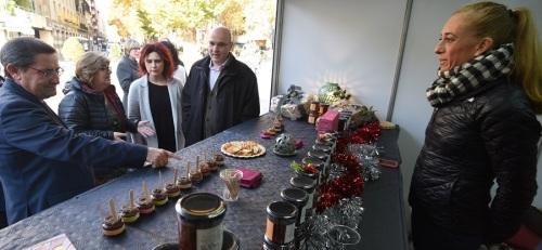 Diputación lleva al centro de la capital la calidad de los productos de la provincia con la 'Feria Sabor Granada'.jpg