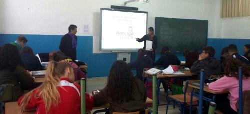damos-la-cara-organiza-talleres-para-alumnos-sobre-relaciones-saludables
