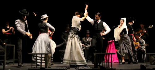 Éxito de 'Aquel Silverio' y del Ballet Flamenco de Andalucía en Almuñécar