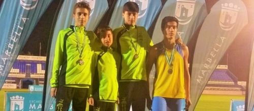 Éxito en Marbella de los atletas del Club Multideporte Almuñécar