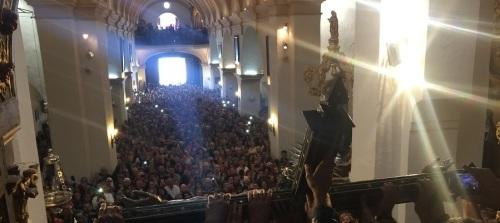 Órgiva inicia los actos de celebración de la festividad de Cristo de la Expiración con el descendimiento de su copatrono