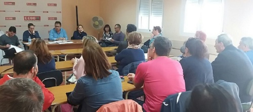 CCOO Granada celebra su primera Comisión Ejecutiva en Motril