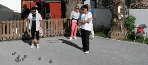 Chantal Tschaen y Edelmira Montes ganan el Torneo de Petanca Femenino