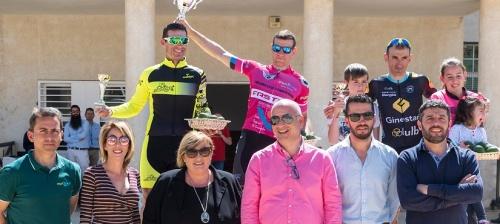 El maillot rosa de vencedor absoluto de la I Vuelta Ciclista a la Costa Tropical ha sido para Francisco Javier López