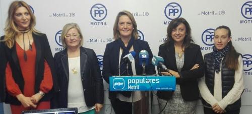 """El PP conmemora el Día Internacional de la Mujer reivindicando que """"el talento no tiene género, tiene mérito"""""""