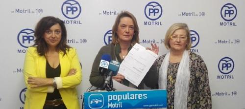 """El PP de Motril denuncia la """"voracidad recaudatoria"""" de la Sra. Almón"""
