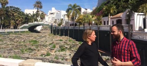 El PSOE critica el 'vergonzoso' estado en el que se encuentra El Majuelo
