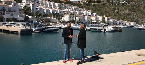 El PSOE critica la inacción del equipo de gobierno ante el problema de vertido de aguas residuales en Marina del Este