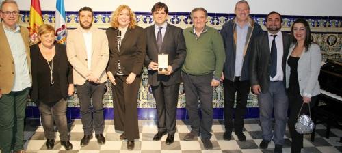 Emocionado homenaje al pianista Juan Carlos Garvayo con la entrega de la Medalla de Oro de la Ciudad