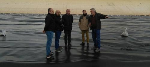 Mancomunidad invierte 300.000 euros en la mejora de la balsa de la Contraviesa