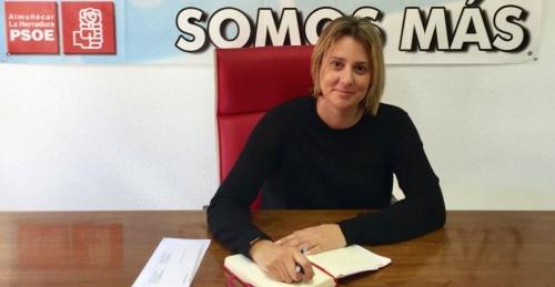 Mª Dolores Manzano Martín, concejal socialista en el Ayuntamiento de Almuñécar