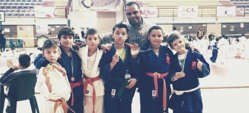 Más de una docena de metales consiguen los judocas sexitanos en Ogíjares