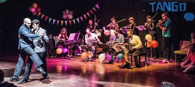 Noche de danza y música en Almuñécar con la Orquesta Social del Tango