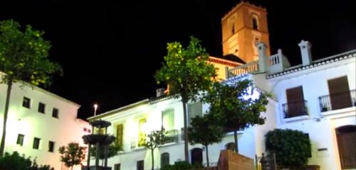 Salobreña_Plaza del Ayuntamiento de noche