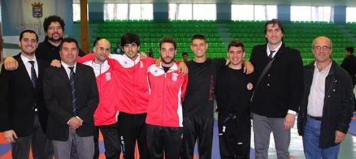 Seis podios para los kenpocas sexitanos en el Campeonato Andalucía Senior