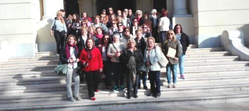 Viaje institucional a Málaga de las asociaciones de mujeres de la Villa