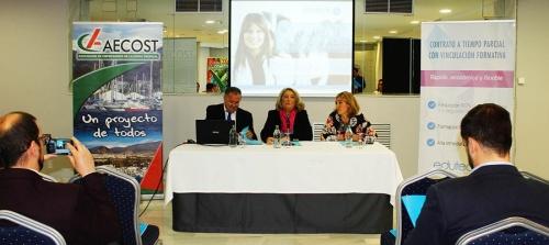 AECOST celebró hoy en Almuñécar una edición de sus 'Desayunos de Negocios'