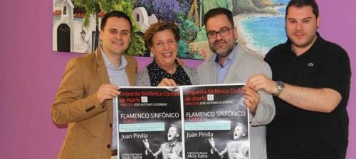Almuñécar acogerá un concierto a Lorca de la OSCA y el cantaor Juan Pinilla