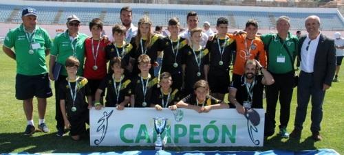 Cádiz se proclama en Almuñécar campeón de Andalucía Alevín Fútbol 8