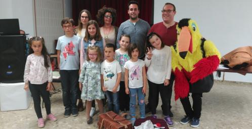 Clausura de las actividades del Día del Libro en Salobreña