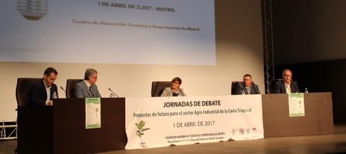 Concluyen las jornadas 'Propuestas de futuro para el sector agro-industrial de la Costa Tropical_