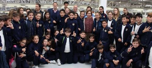 'Del Campo a la Mesa__alumnos del Santo Rosario visitan las instalaciones de la cooperativa Granada-La Palma