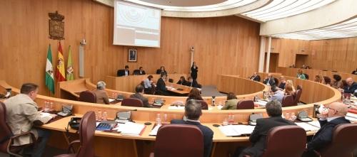 El pleno de la Diputación insta al CGPJ a mantener en Granada las nuevas sedes de la Sala de lo Penal