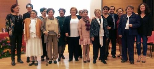 El PSOE provincial reconoce toda una vida de compromiso político de la motrileña Encarna López Martos