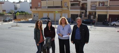 Finalizan las obras de urbanización del solar municipal entre las calles Melaza y Cañadú