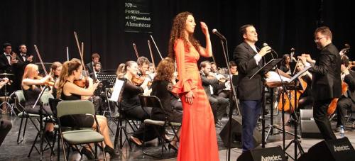 Gran concierto sinfónico de la OSCA, Juan Pinilla y Mely Zafra dedicado a Lorca