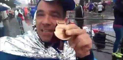 José Emilio Rivera. Un Sexitano en la Maratón de Roma