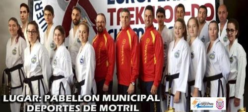 La Selección Española de Taekwondo ITF elige Motril para el último entrenamiento antes del europeo
