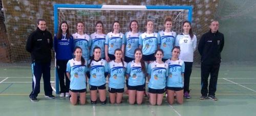 Las juveniles del balonmano femenino de Almuñécar se clasifican para el intersector del Campeonato de España