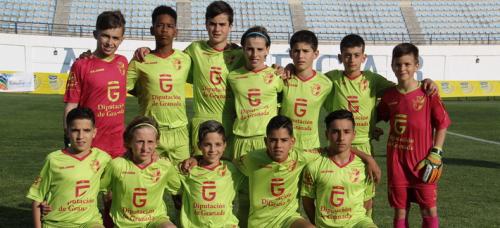 Los alevines del Granada empiezan con empate sin goles frente al Málaga