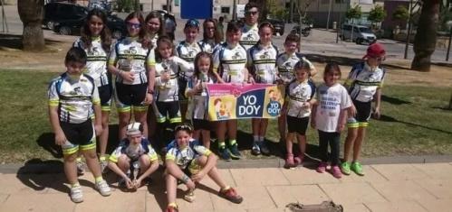 Los ciclistas sexitanos consiguieron 6 podios en Trebujena (Cádiz)