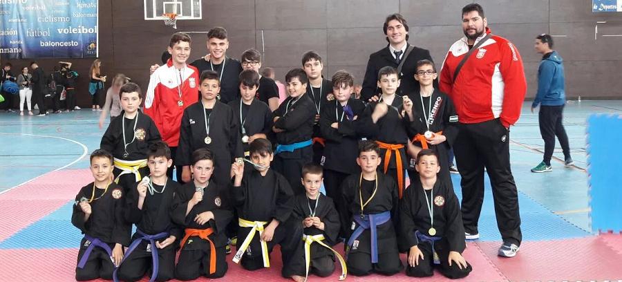 Los kenpocas sexitanos logran 18 metales en el II Campeonato de la Liga Andaluza
