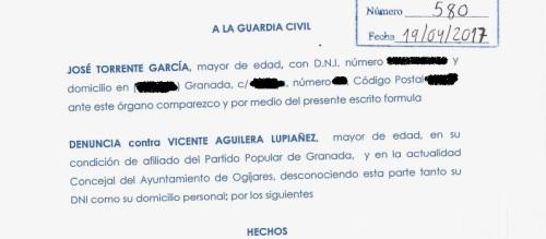 Parte Guardia Civil agresión José Torrente_2