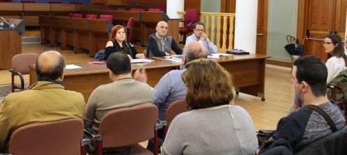 Reunión del Consejo Municipal de Personas con Diversidad Funcional