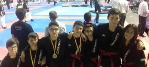 Seis podios para los kenpocas sexitanos en el Campeonato de España
