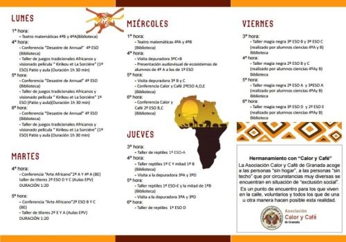 Semana Cultural dedicada a África 2