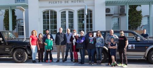 Zarpa de Motril un Raid Solidario con una tonelada de ayuda humanitaria para Marruecos
