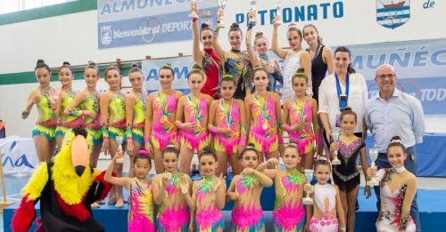 470 gimnastas se dieron cita en IV Torneo de Gimnasia Rítmica de Almuñécar