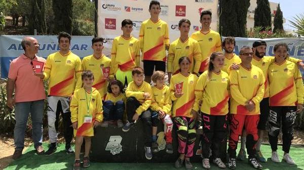Alejandro Alcojor y Daniela Moreno, líderes de la Copa de España BMX tras la prueba de Almuñécar
