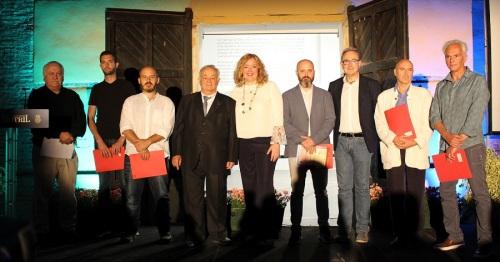 Bernardino Sánchez Bayo ganador de la 'VII edición del Certamen Intl. de Pintura Ramón Portillo Ciudad de Motril_