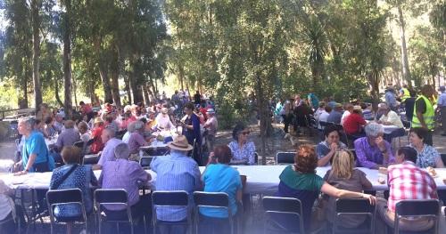 Órgiva reúne a 350 mayores en el Encuentro de Centros de Participación Activa de la provincia