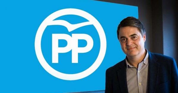 Carlos Rojas, presidente del PP de Motril