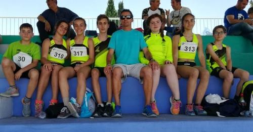 Control de marcas en Granada_excelente actuación de los atletas sexitanos